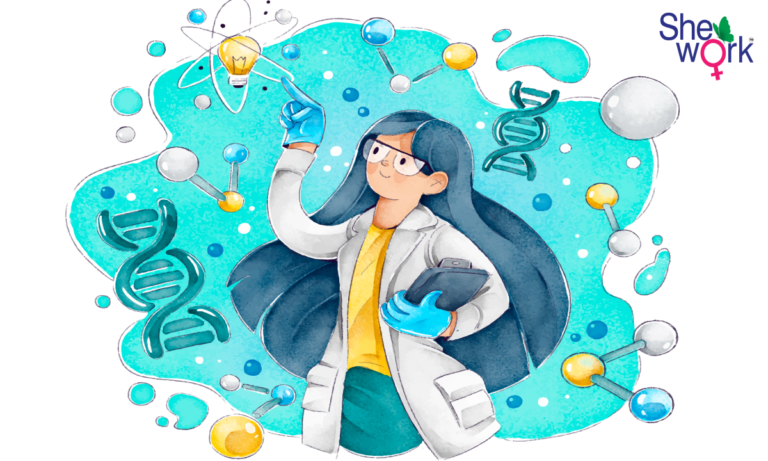 contribution of women in science